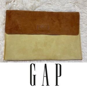 NWOT GAP | Color block leather envelope pouch